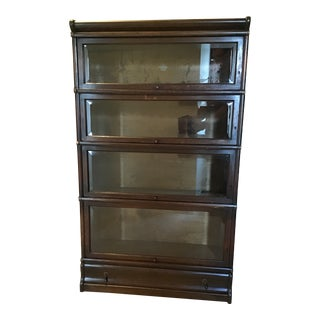 1900s Vintage Globe Wernicke Barrister Bookcase For Sale