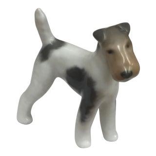 Vintage Royal Copenhagen Porcelain Figurine Terrier #3170