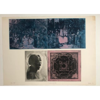 """""""A Masque for Lovers"""" Photo-Etching by Jennifer Dickson, 1972 Preview"""