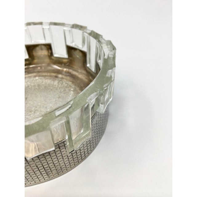 Art Deco Art Deco Silver Plated Double Candy Dish For Sale - Image 3 of 9