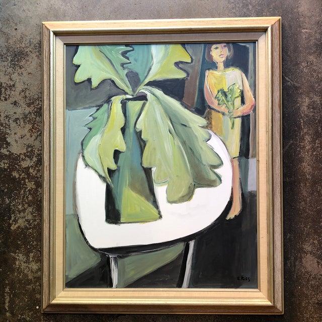 Original Contemporary Stewart Ross Modernist Still Life Painting Framed For Sale In Philadelphia - Image 6 of 6