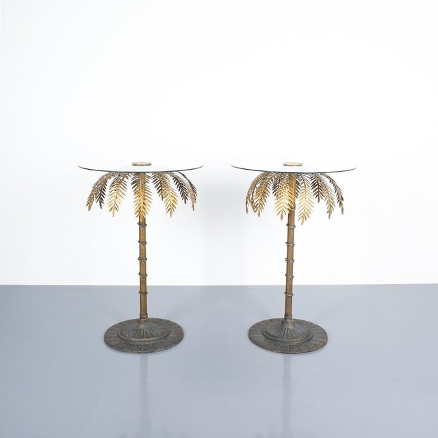 Iron Centre or Side Tables Style Maison Charles, Circa 1955 For Sale - Image 11 of 11