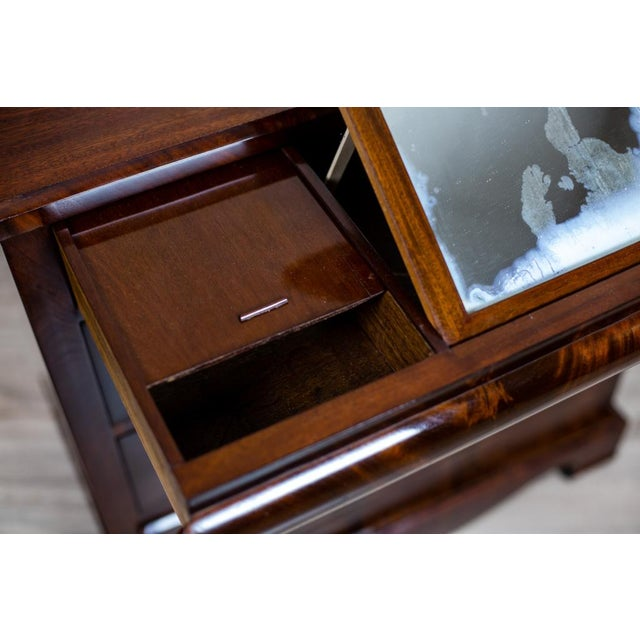 1860s Biedermeier Dresser-Vanity Table For Sale - Image 11 of 13