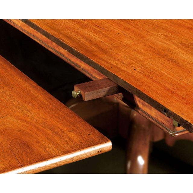 Incredible English Mahogany Seven-Pedestal Dining Table For Sale - Image 4 of 5