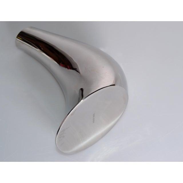 Georg Jensen Cobra Vase Stainless Steel - Image 3 of 8