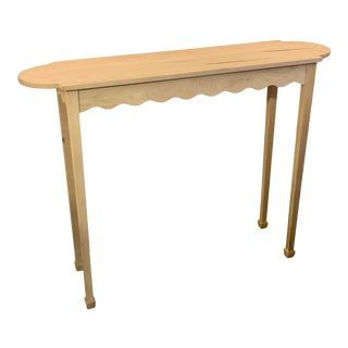 Irwin & Lane Wave Hall Table For Sale