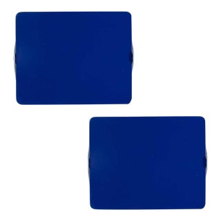 Charlotte Perriand Blue Cp1 Wall Lights - a Pair For Sale