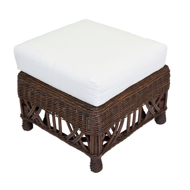 A larger ottoman for the Carolina Chair that will also go with many of our other designs. Shown in Dark Walnut. Each...