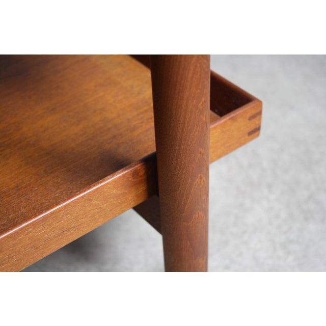 Poul Hundevad Danish Modern Expandable Bar Cart For Sale - Image 5 of 5