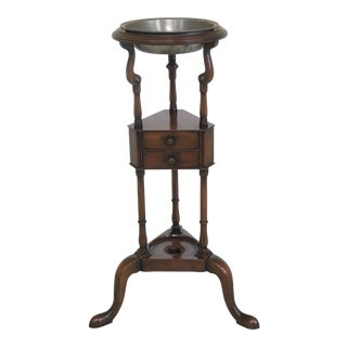 Kittinger Colonial Williamsburg Mahogany Basin Stand For Sale