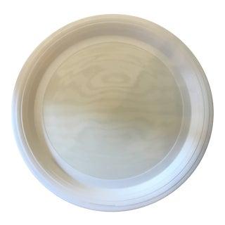 Hornsea Swan Lake Pattern Embossed Plate For Sale