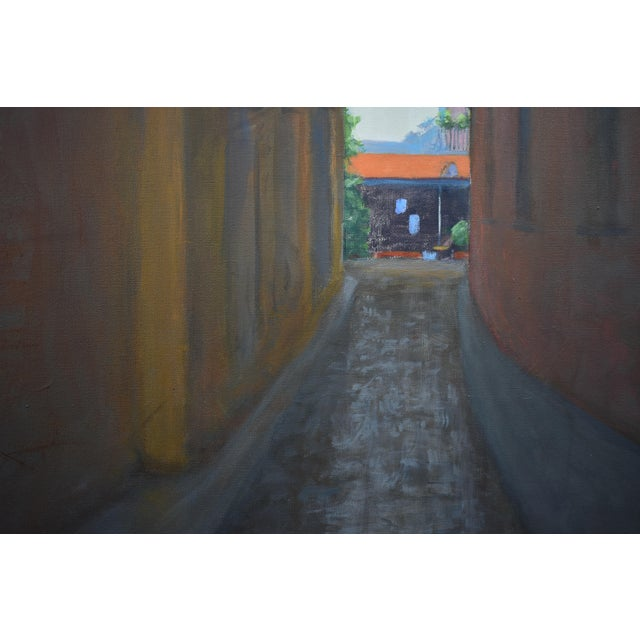 "Stephen Remick ""Memory of Seville"" Large Contemporary Painting by Stephen Remick For Sale - Image 4 of 11"
