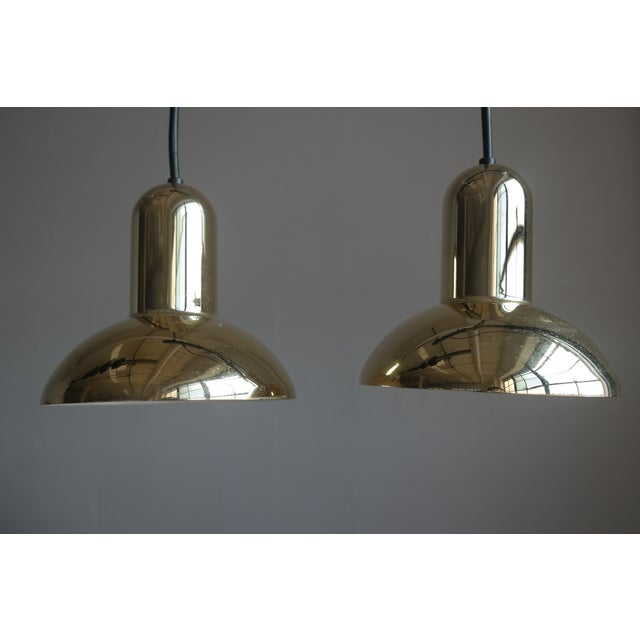 Lyfa Danish Modern Pendant Lighting - A Pair - Image 2 of 6