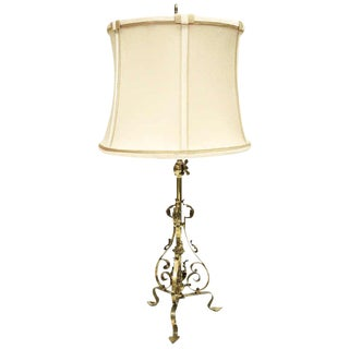 Antique Wall or Table Lamp For Sale