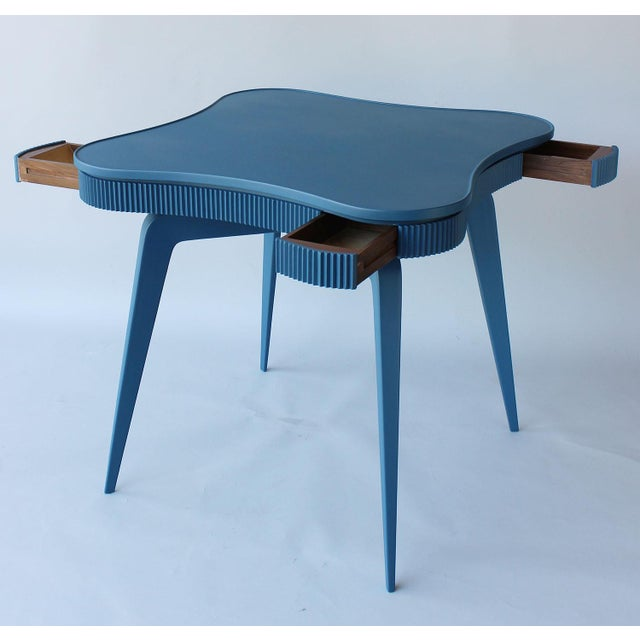 Paolo Buffa Mid-Century Italian Game Table For Sale - Image 4 of 8