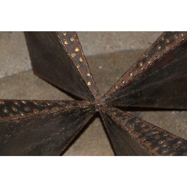 Paul Evans Brutalist Steel Coffee Table For Sale - Image 10 of 13