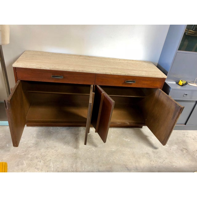 Mid 20th Century Mid-Century Modern American of Martinsville Italian Soapstone Credenza For Sale - Image 5 of 10