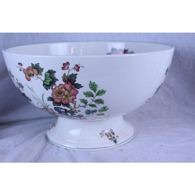 Asian 20th Century Asian Spode Punch Bowl For Sale - Image 3 of 7