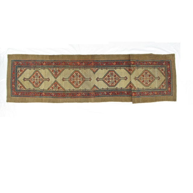 "Leon Banilivi Antique Sarab Runner - 3'5"" X 16' - Image 3 of 7"