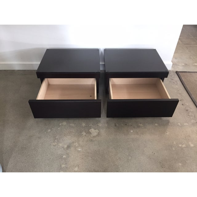 Poliform Abbinabili Attri. Nightstands - A Pair - Image 7 of 11