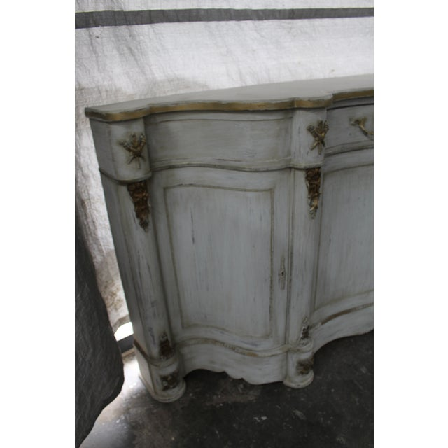 French 20th Century French Curved Sideboard For Sale - Image 3 of 8