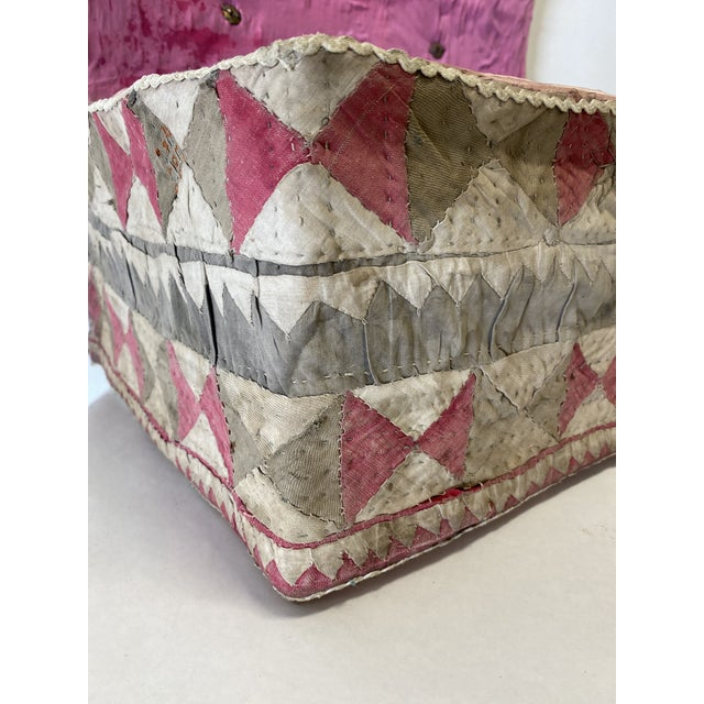 Antique Katha Quilt Box For Sale - Image 4 of 12