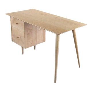 Blonde Paul McCobb Desk for Planner Group, USA For Sale