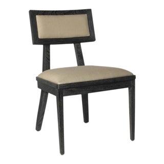 Brownstone Furniture Palmer Mink Side Chair For Sale