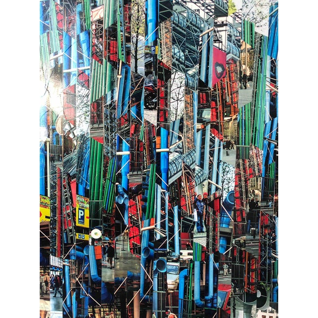 Photography Collage by Serge Mendjisky, Beaubourg For Sale - Image 4 of 5