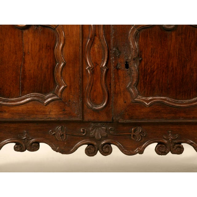 Brown Early 18th C. French Louis XV Buffet For Sale - Image 8 of 11
