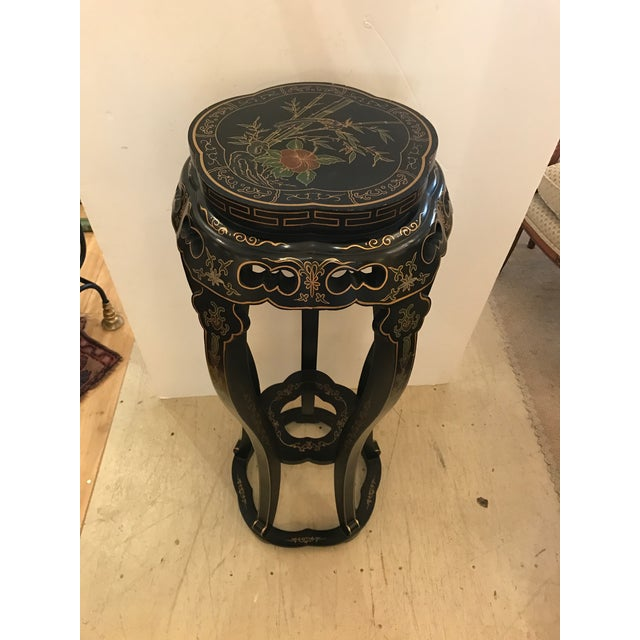 Chinoiserie Style Plant Stand or Pedestal For Sale - Image 11 of 11
