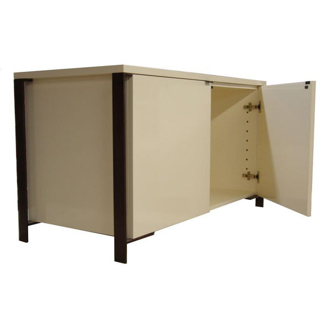 Modern Fabry Bronze Frame Media Cabinet For Sale - Image 3 of 8