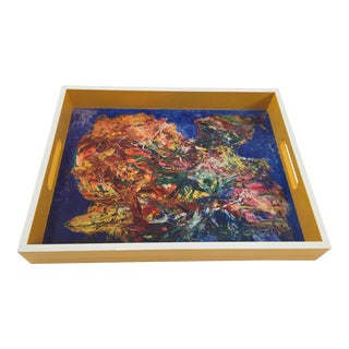 Bruce Mishell Collections Lacquer Tray For Sale