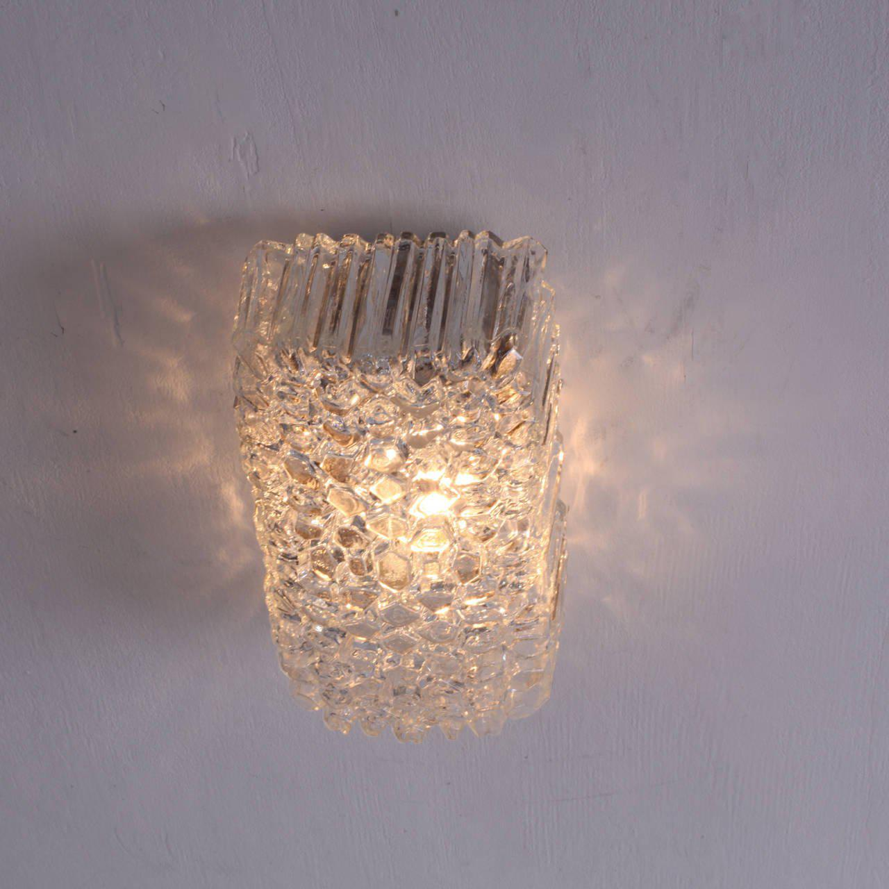 Glass Wall L&s or Flush Mounts by Helena Tynell for Glashütte Limburg - Image 5 of & Distinguished Glass Wall Lamps or Flush Mounts by Helena Tynell for ...