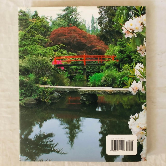 """Paper 1999 """"Japanese Style Gardens of the Pacific West Coast"""" Rizzoli Garden & Design Book For Sale - Image 7 of 8"""