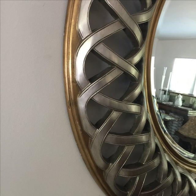 Chinese Round Decorative Mirror - Image 5 of 8