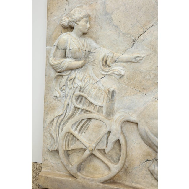 Mid 20th Century Neoclassical Plaster Panel For Sale - Image 5 of 9