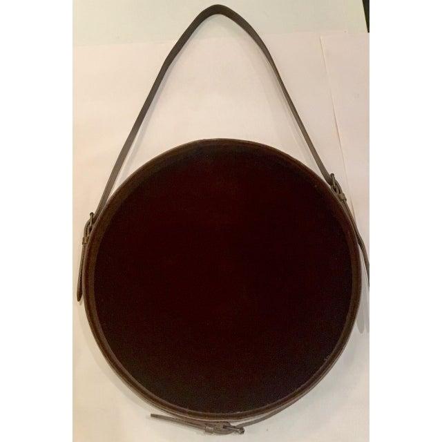 Lawson Fenning Leather Strap Mirror - Image 3 of 8