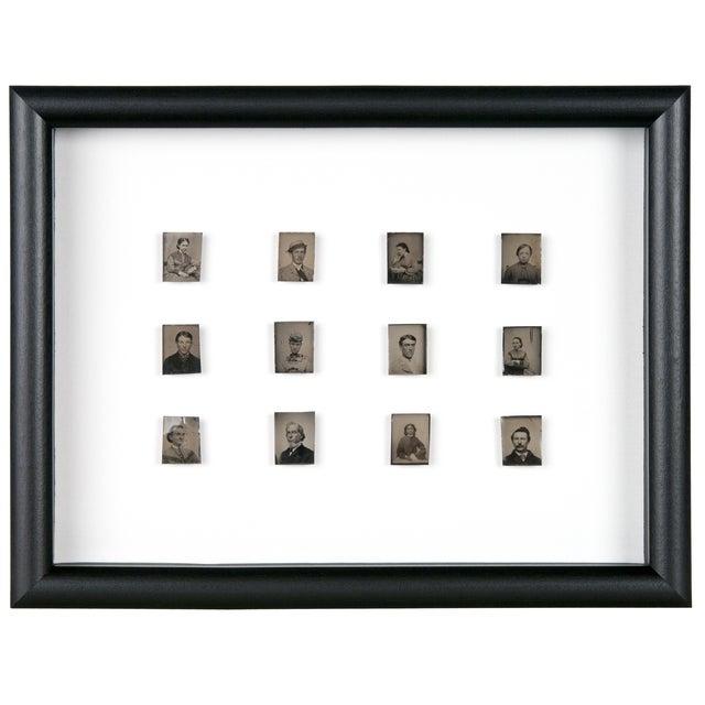 Antique Framed Daguerreotype Portraits - Set of 12 - Image 1 of 2