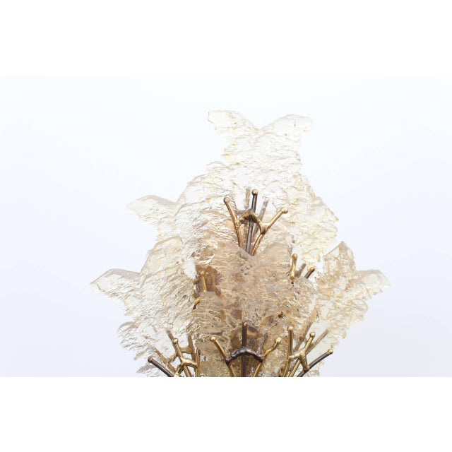 Henri Fernandez Beautiful Unique Brass Tree Table Lamp by Henri Fernandez For Sale - Image 4 of 9