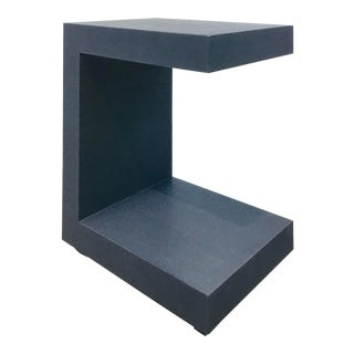 Bungalow 5 Modern Navy Blue Essential Side Table For Sale