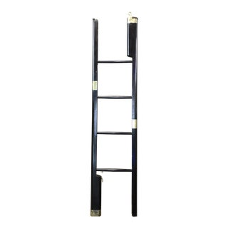 Folding Library Stick Ladder For Sale