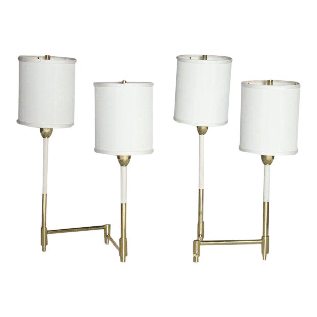 Parzinger Style Table Lamps For Sale