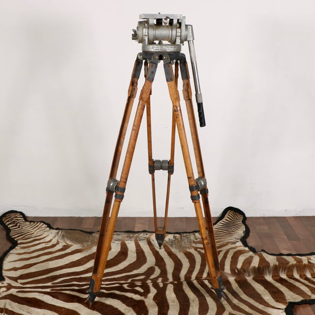 Industrial Motion Picture Tripod - Image 2 of 9