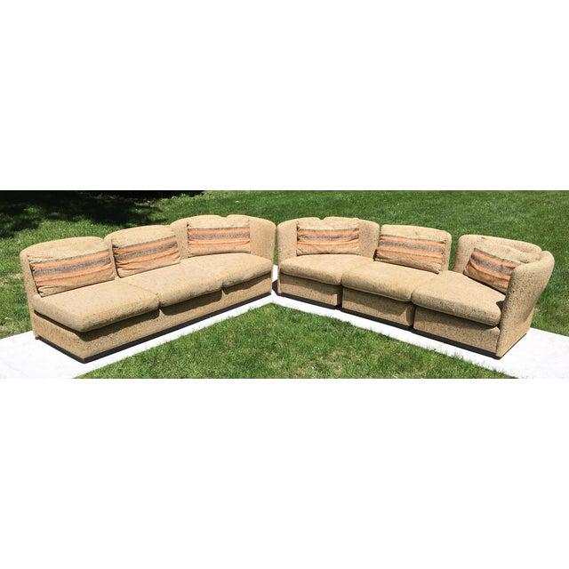 Mid Century Scandinavian Modular Sofa Sectional - Image 7 of 10