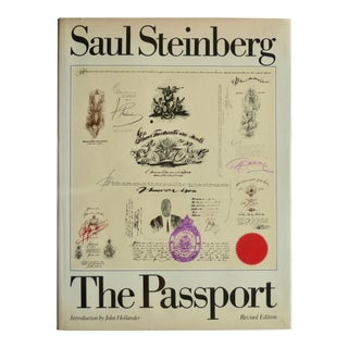 The Passport by by Saul Steinberg, 1979 For Sale