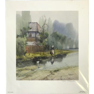"""""""After the Rain"""" Giclée Print Signed by Artist For Sale"""