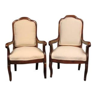 French Pair of Chairs For Sale