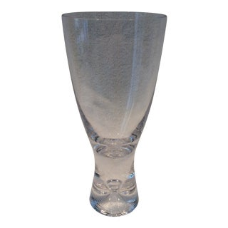 Iittala Tapio Hand Blown Water Goblet For Sale