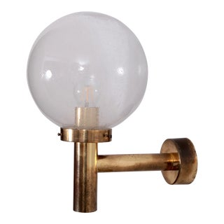 Set of Three Hans-Agne Jakobsson Wall Lamps with Large Glass Bulb For Sale